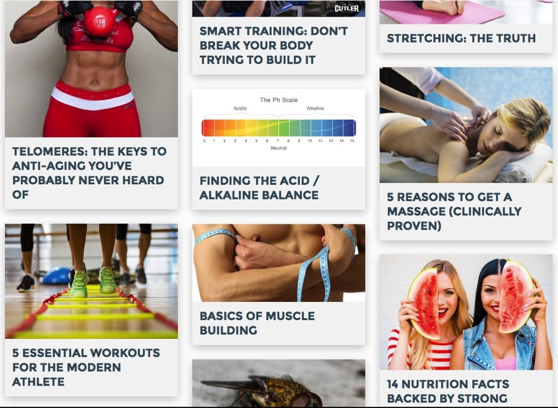 Best health and fitness articles
