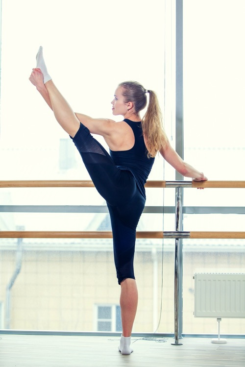 13. Limber up for the New Year with Barre Fusion